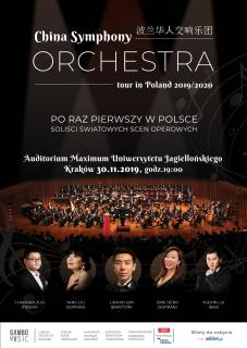 China Symphony Orchestra in Krakow