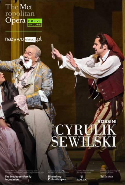 MET Opera: The Barber of Seville