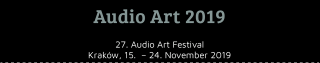 Audio Art Festival 2019