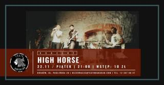 High Horse w ArtCafe Barakah