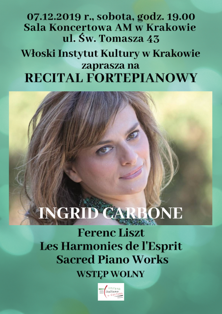 Ingrid Carbone - piano recital