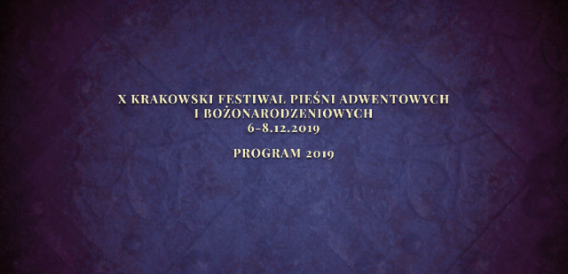 10th Krakow Festival of Advent and Christmas Songs