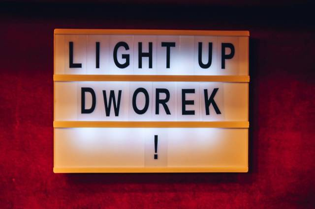 Light Up Dworek!