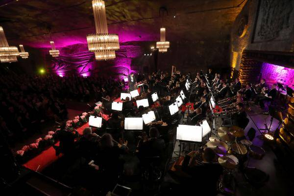 "New Year's concert in the ""Wieliczka"" Salt Mine"