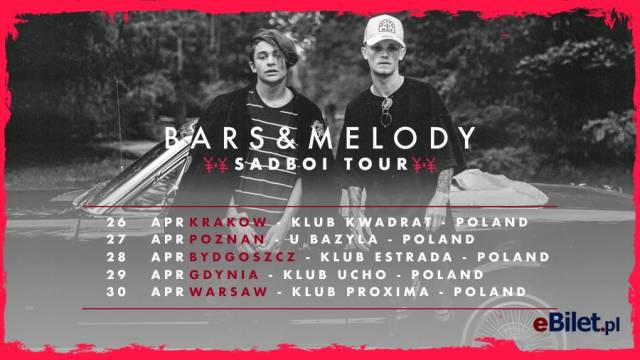 Bars and Melody: Sadboi Tour