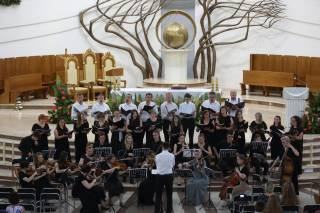 Christmas music concert at the Sanctuary in Łagiewniki