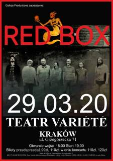 Red Box at Variété Theatre