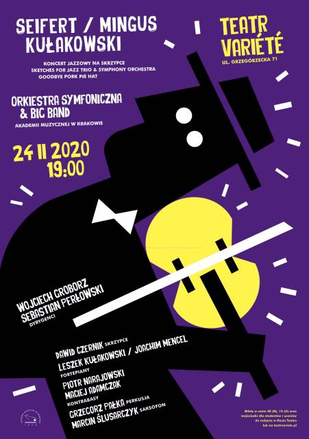 Symphonic Orchestra and Big Band of Music Academy in Krakow concert