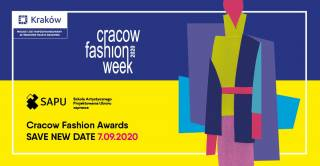SAVE NEW DATE!!! Cracow Fashion Week 2020