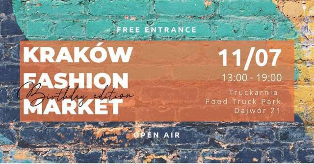 Krakow Fashion Market – Open Air – Birthday Edition!