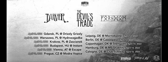 Darkher, Forndom, The Devil's Trade at Zaścianek