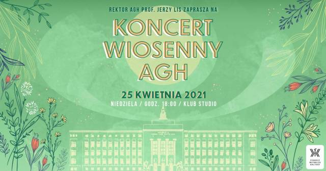 Koncert Wiosenny AGH (online)